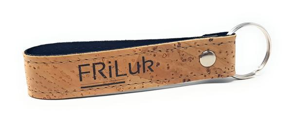 FRiLuk Key Ring in Natural-Unisex Keyring-FRiLuk-Unicorn Goods