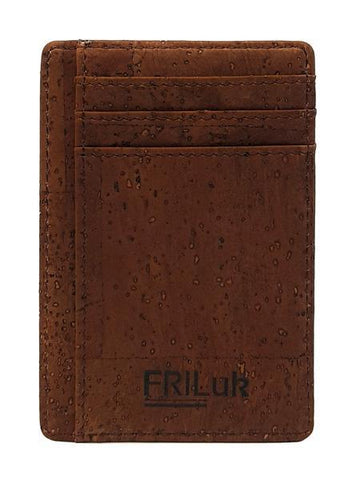 FRiLuk Men's Minimalist Wallet in Brown-Mens Wallet-FRiLuk-Unicorn Goods