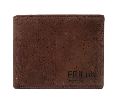 FRiLuk Men's Slim Coin Pocket Wallet in Brown-Mens Wallet-FRiLuk-Unicorn Goods