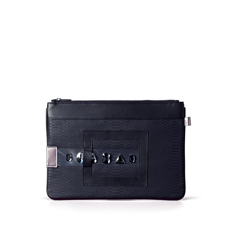 FruitenVeg GEMA Bracelet Clutch in Black-Womens Clutch-FruitenVeg-Unicorn Goods