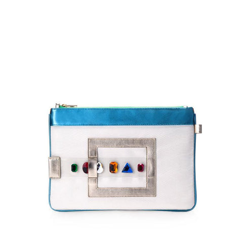 FruitenVeg GEMA Bracelet Clutch in Multicolor-Womens Clutch-FruitenVeg-Unicorn Goods