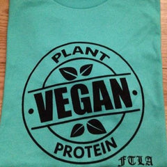 FTLA Apparel Athletic Vegan Plant Short Sleeve Tee-Mens T-shirt-FTLA-Unicorn Goods