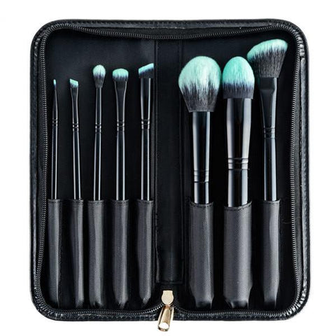 Furless Black Beauty Makeup Brush Set-Makeup - Brushes-Furless-Unicorn Goods