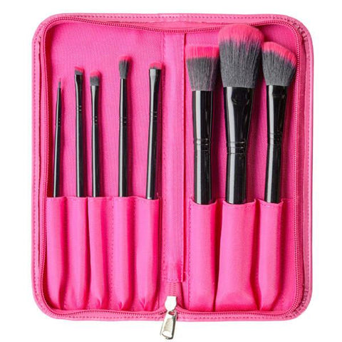 Furless Perfectly Pink Makeup Brush Set-Makeup - Brushes-Furless-Unicorn Goods