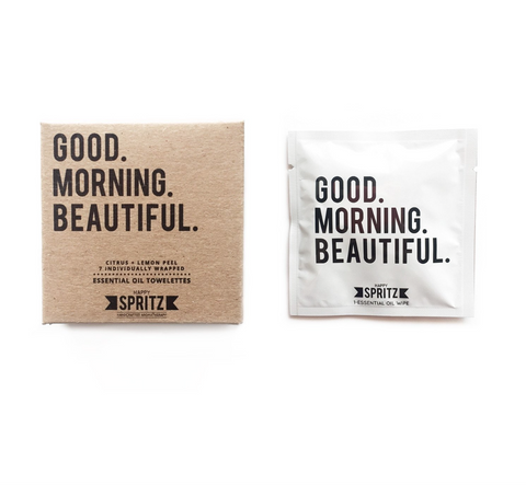 Good Morning Beautiful Essential Oil Towelettes (7 Day Box)-Womens Skincare-Amanda Jay-Unicorn Goods