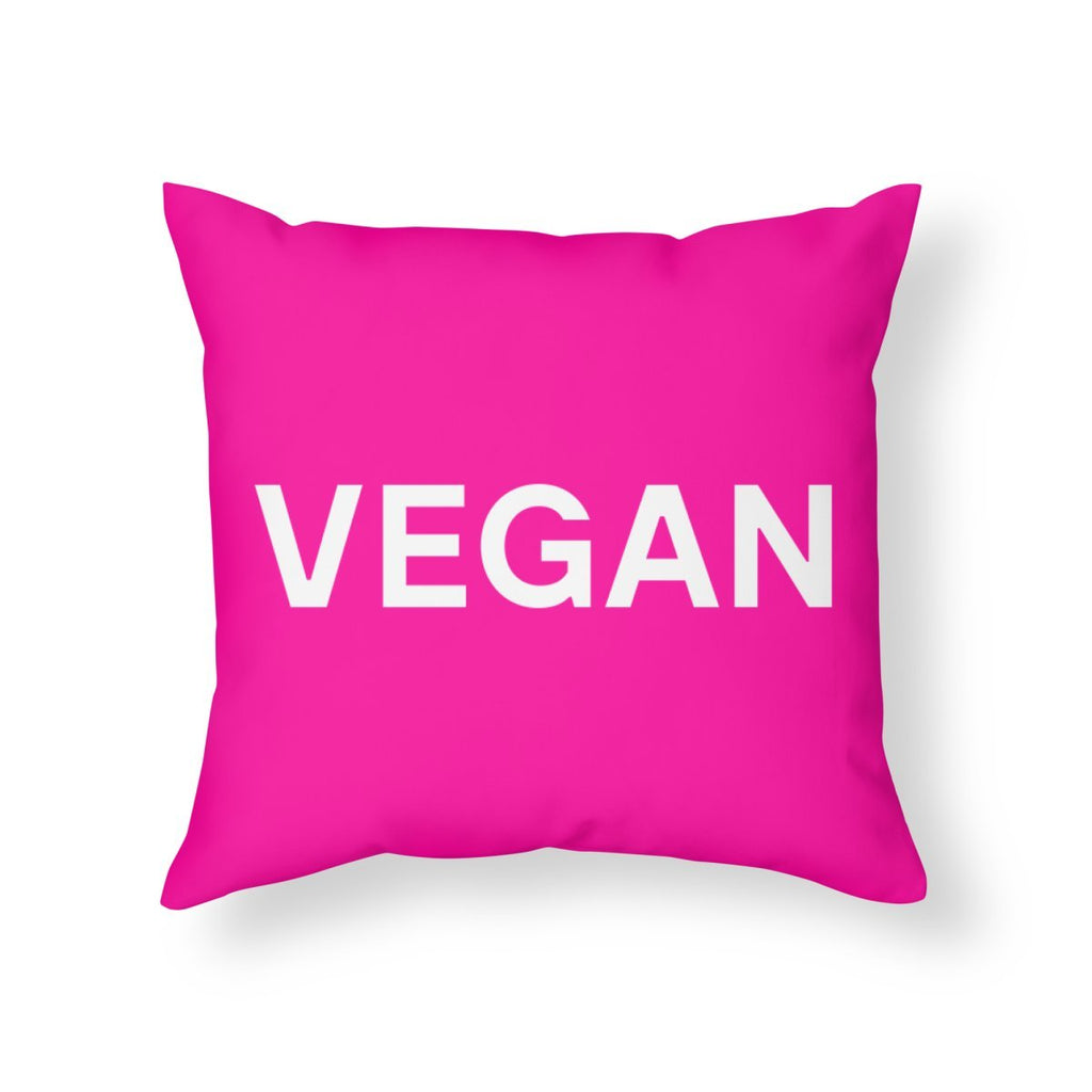 Goods by Unicorn Goods Hot Pink Throw Pillow-Bedding-Goods by Unicorn Goods-Unicorn Goods
