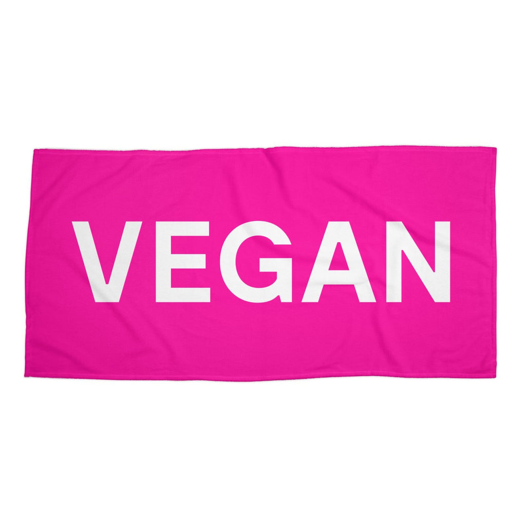 Goods by Unicorn Goods Hot Pink Towel-Beach Towel-Goods by Unicorn Goods-Unicorn Goods