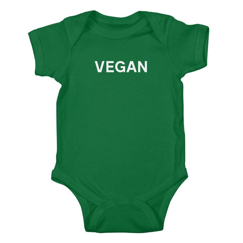 Goods by Unicorn Goods Vegan Baby Onesie Bodysuit in Kelly Green-Kids - Clothing-Goods by Unicorn Goods-Unicorn Goods