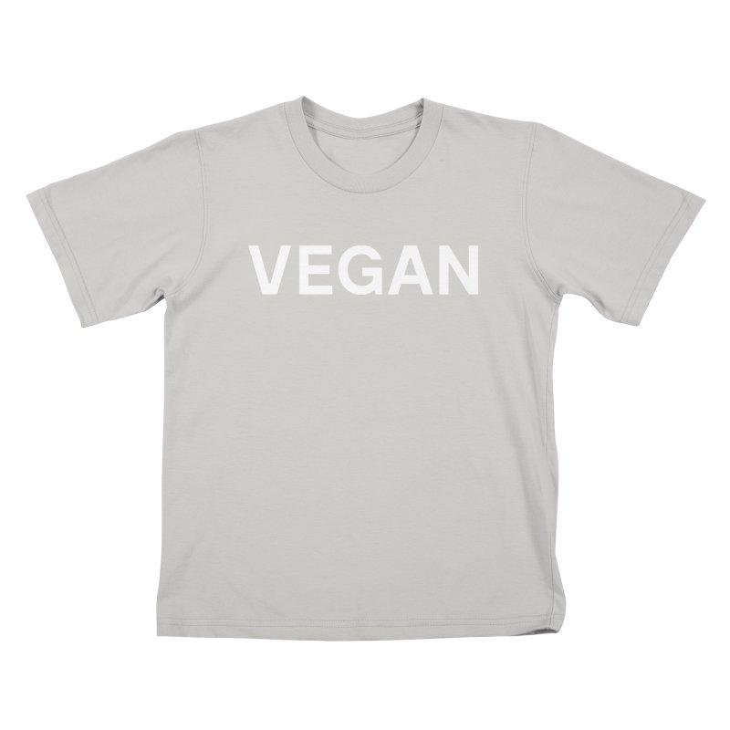 Goods by Unicorn Goods Vegan Kids T-shirt in Stone-Kids - Clothing-Goods by Unicorn Goods-Unicorn Goods