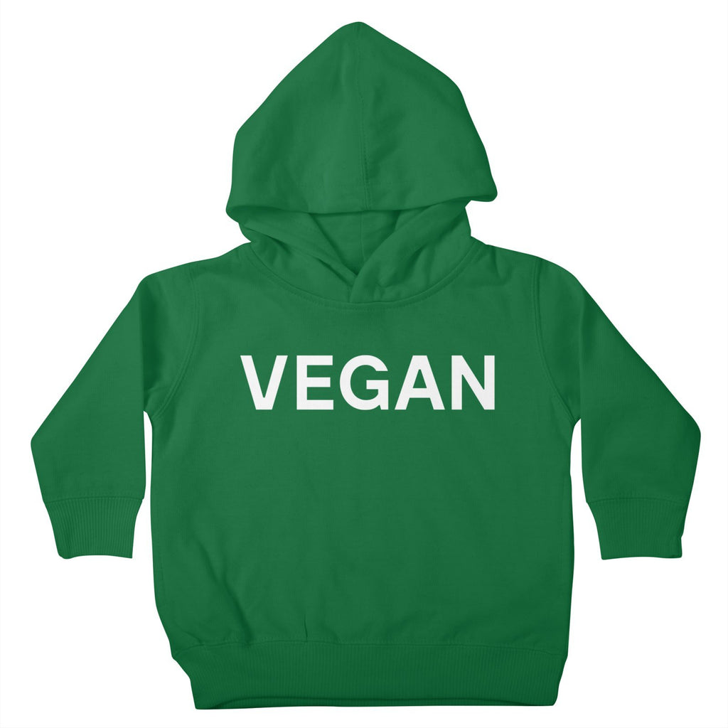 Goods by Unicorn Goods Vegan Toddler Hoodie in Kelly Green-Kids - Clothing-Goods by Unicorn Goods-Unicorn Goods