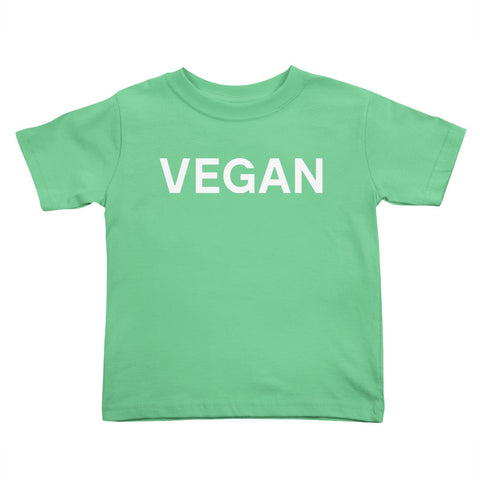 Goods by Unicorn Goods Vegan Toddler T-shirt in Grass-Kids - Clothing-Goods by Unicorn Goods-Unicorn Goods