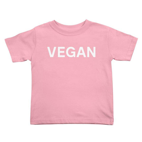 Goods by Unicorn Goods Vegan Toddler T-shirt in Light Pink-Kids - Clothing-Goods by Unicorn Goods-Unicorn Goods