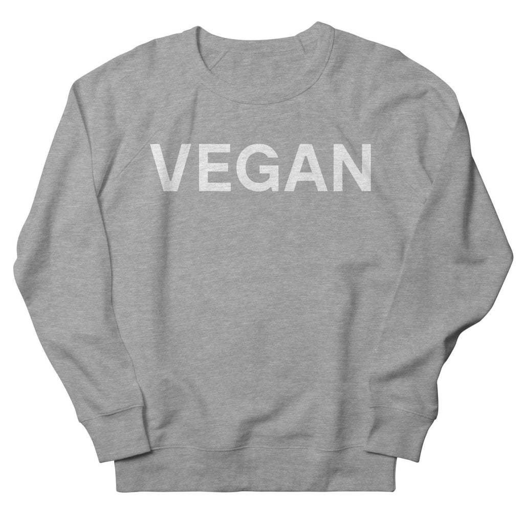 Goods by Unicorn Goods Vegan Women's Sweatshirt in Heather Graphite-Womens Sweatshirt-Goods by Unicorn Goods-Unicorn Goods