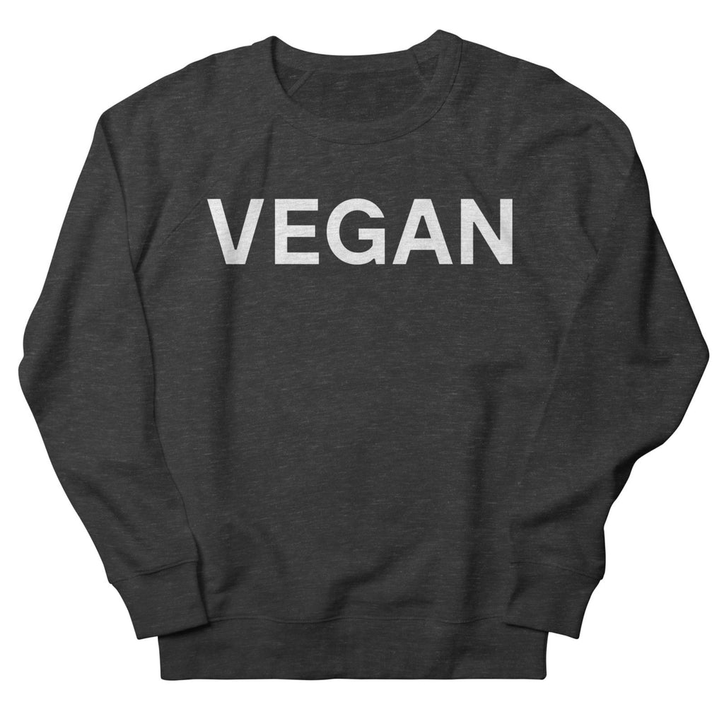 Goods by Unicorn Goods Vegan Women's Sweatshirt in Smoke-Womens Sweatshirt-Goods by Unicorn Goods-Unicorn Goods