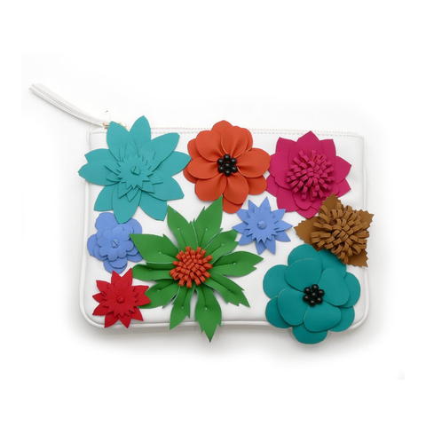Gunas Bloom Clutch-Womens Clutch-Gunas-Unicorn Goods