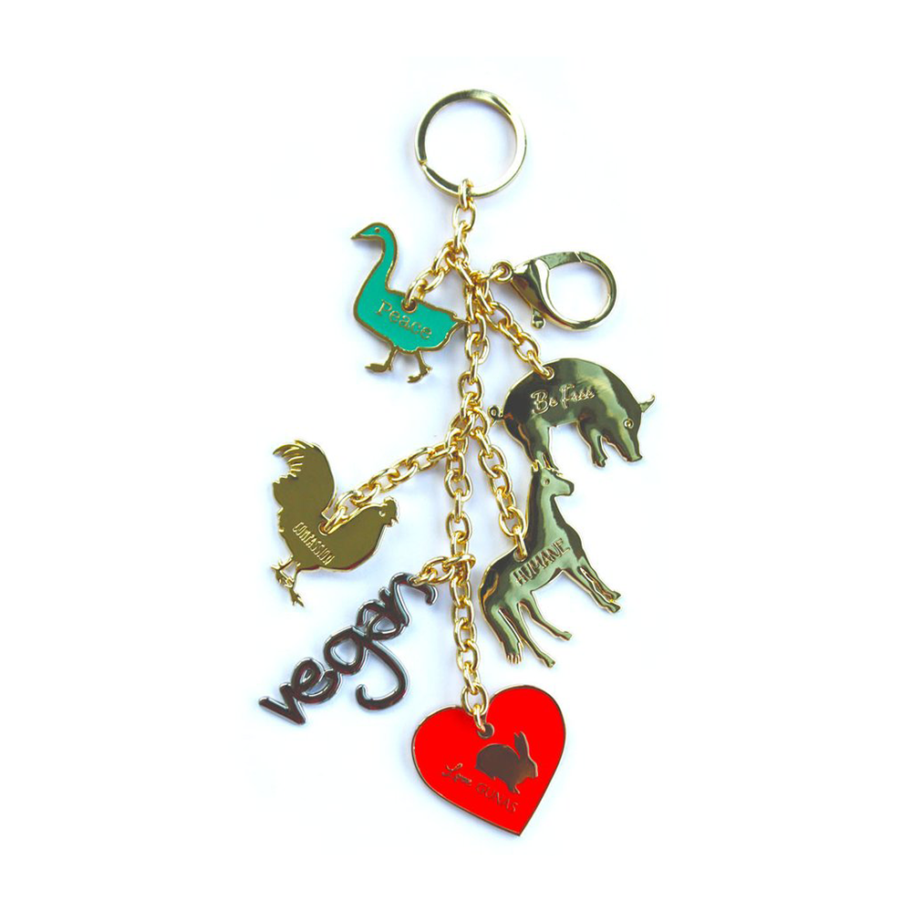 Gunas Farm Charm-Womens Keyring-Gunas-Unicorn Goods