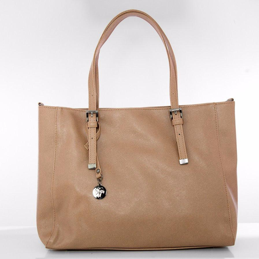 Gunas Kangaroo Saffiano in Tan-Womens Tote-Gunas-Unicorn Goods