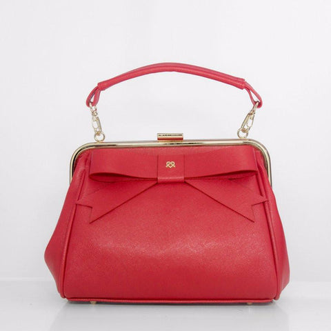 Gunas Kelly Purse in Red-Womens Purse-Gunas-Unicorn Goods