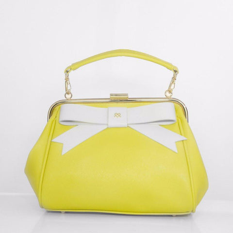 Gunas Kelly Purse in Yellow-Womens Purse-Gunas-Unicorn Goods
