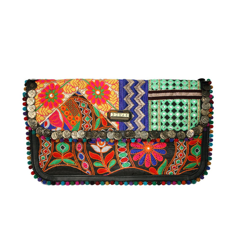 Gunas Macaw Clutch-Womens Clutch-Gunas-Unicorn Goods