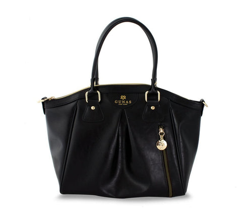Gunas Madison Bag in Black-Womens Purse-Gunas-Unicorn Goods