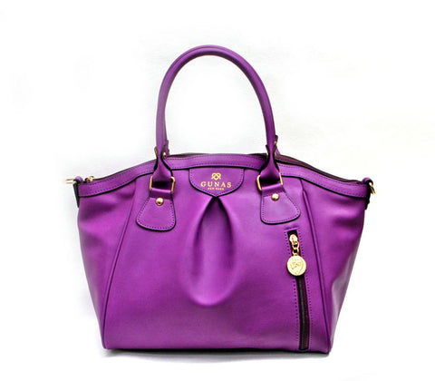 Gunas Madison Bag in Purple-Womens Purse-Gunas-Unicorn Goods