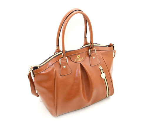 Gunas Madison Bag in Tan-Womens Purse-Gunas-Unicorn Goods