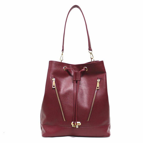 Gunas Pelican Bag in Marsala Red-Womens Purse-Gunas-Unicorn Goods