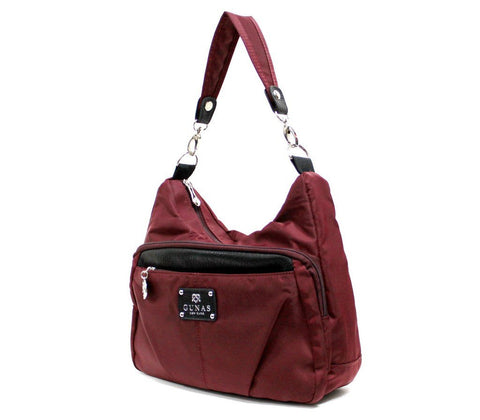 Gunas Perch Purse in Burgundy-Womens Purse-Gunas-Unicorn Goods