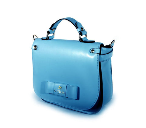 Gunas Ridley Crossbody Bag in Teal-Womens Satchel-Gunas-Unicorn Goods