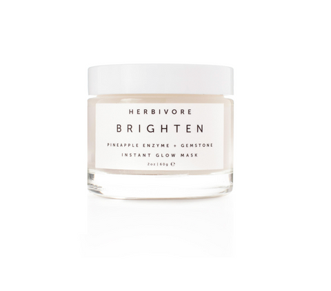 Herbivore Brighten Pineapple + Gemstone Mask-Unisex Skincare-Herbivore Botanicals-Unicorn Goods