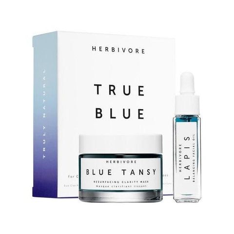 Herbivore True Blue Skin Clarifying Duo-Womens Skincare-Herbivore Botanicals-Unicorn Goods