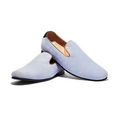 Jents Fiji Denim Loafers-Mens Loafers-Jents-Unicorn Goods
