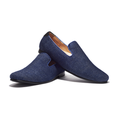 Jents Maldive Denim Loafers-Mens Loafers-Jents-Unicorn Goods