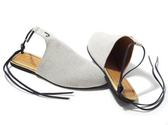 Jents Tahiti Denim Slide Ons-Womens Flats-Jents-Unicorn Goods