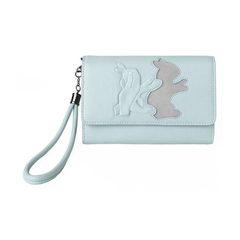 L. YUCEL Shadow Puppet Bunny Lucky Wallet-Womens Clutch-L. YUCEL-Unicorn Goods