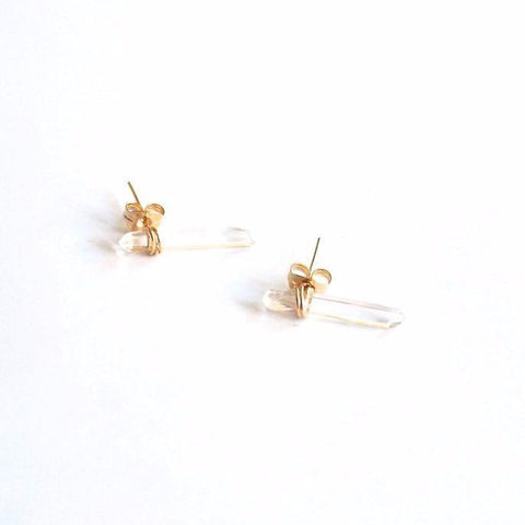 Lavender Crush Alicante Crystal Stud Earrings-Womens Earrings-Bead and Reel-Unicorn Goods