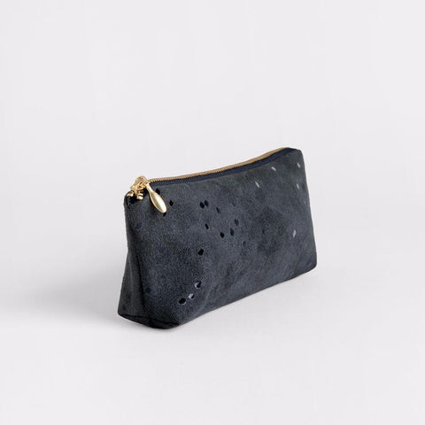 Lee Coren Amped Zip Pouch in Black Confetti-Womens Utility Bag-Lee Coren-Unicorn Goods