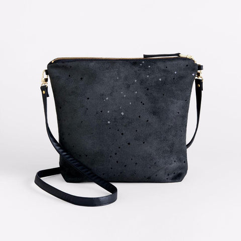 Lee Coren Black Confetti Everything Crossbody & Clutch-Womens Clutch-Lee Coren-Unicorn Goods