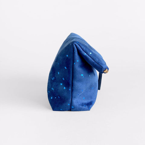 Lee Coren Blue Confetti Everything Fold Over Clutch-Womens Clutch-Lee Coren-Unicorn Goods