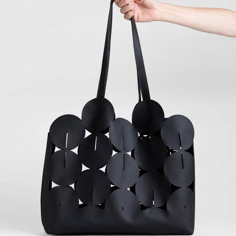 Lee Coren Ciclo Tote Bag in Black-Womens Tote-Lee Coren-Unicorn Goods