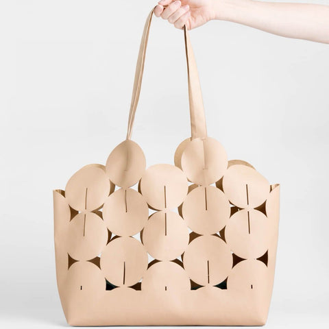 Lee Coren Ciclo Tote Bag in Tan-Womens Tote-Lee Coren-Unicorn Goods