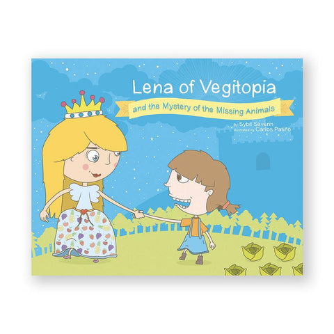Lena of Vegitopia and the Mystery of the Missing Animals-Kids - Book-Amazon-Unicorn Goods