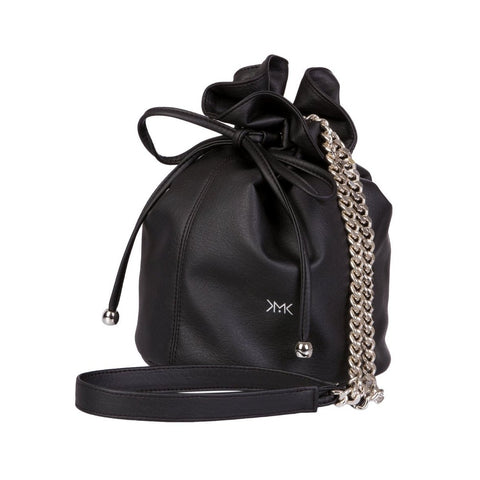 Magnethik Bucket Bag in Black-Womens Satchel-Magnethik-Unicorn Goods