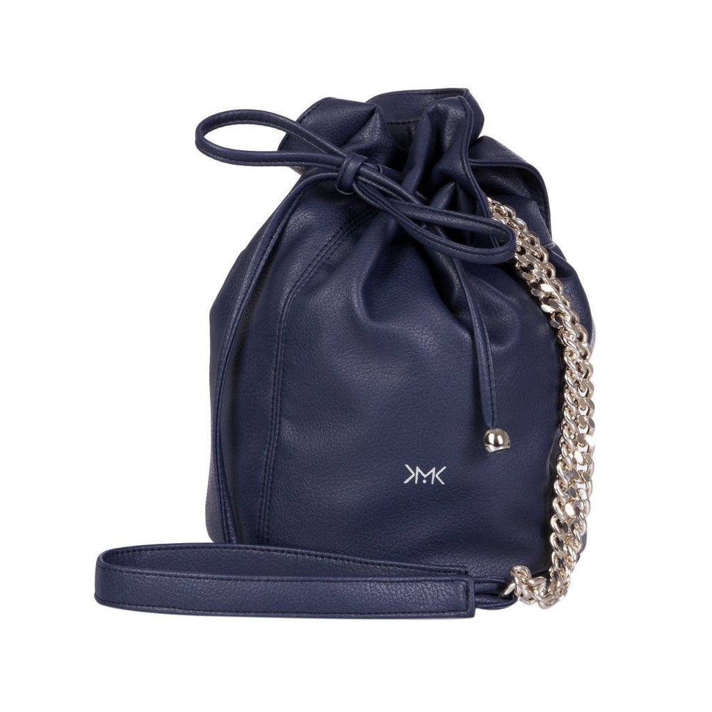 Magnethik Bucket Bag in Indigo Blue-Womens Satchel-Magnethik-Unicorn Goods