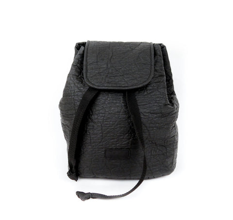Maravillas Piñatex Backpack in Black-Womens Purse-Maravillas-Unicorn Goods