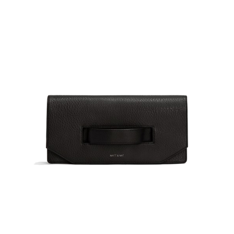 Matt & Nat Abiko Clutch in Black-Womens Clutch-Matt & Nat-Unicorn Goods