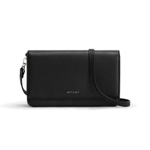 Matt & Nat Bee Purse in Black-Womens Satchel-Matt & Nat-Unicorn Goods