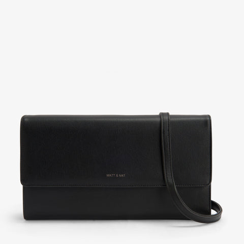 Matt & Nat Drew Large Crossbody in Black-Womens Crossbody-Matt & Nat-Unicorn Goods