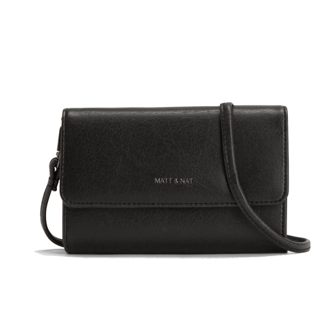Matt & Nat Small Drew Satchel in Black-Womens Satchel-Matt & Nat-Unicorn Goods